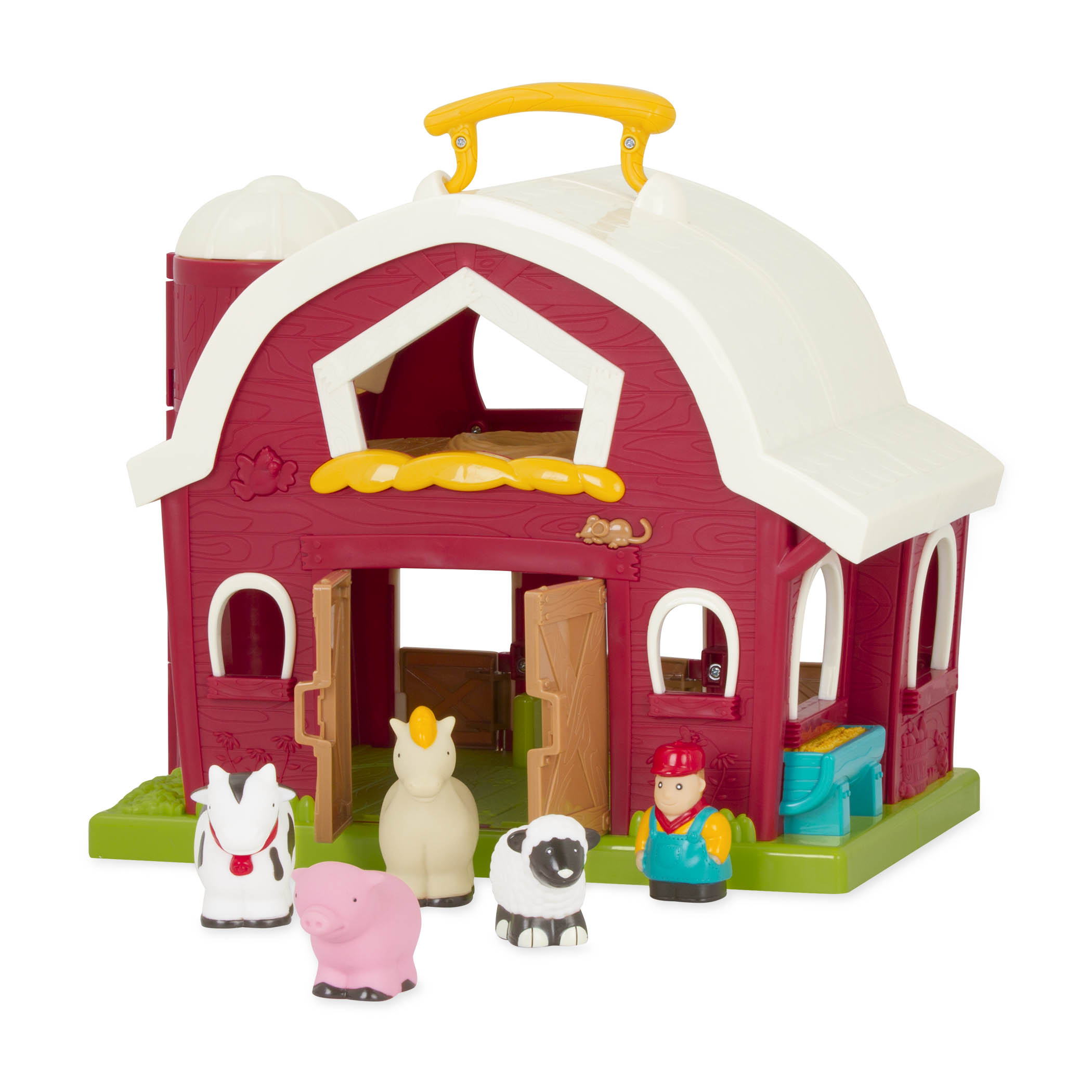 Animal Barn Toy | Farm Animal Set for Toddlers | Battat