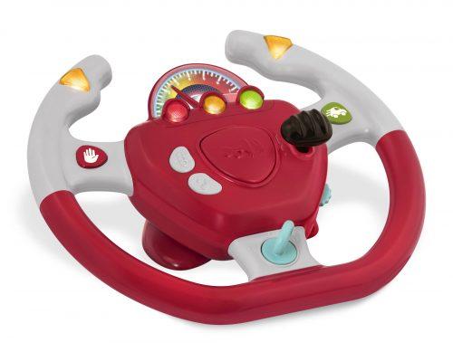 Toy steering wheel.