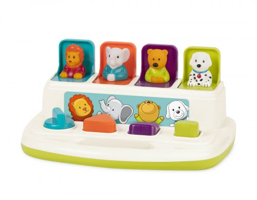 Animal push and pop toy.