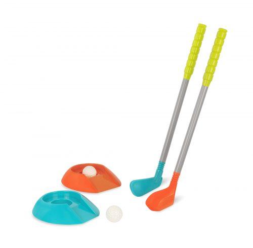 Toy golf set.
